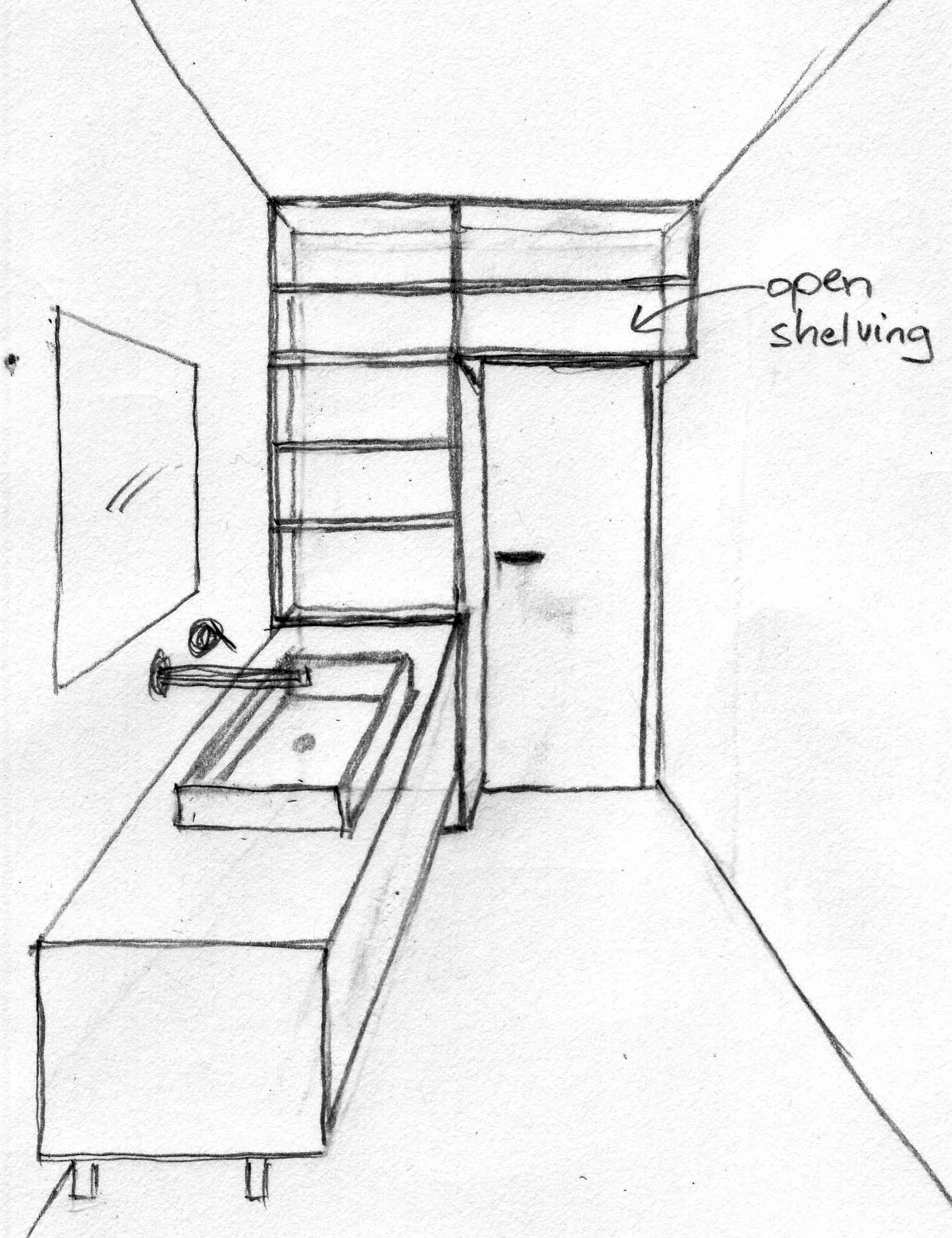 Sketch Of A Bathroom 28 Images Hand Drawn Sketch Linear Sketch Of An Interior Part Of The